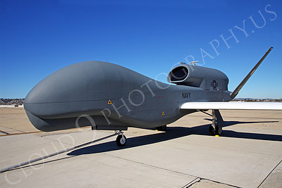 BAMS-D-USN 00001 A static US Navy UAV BAMS-D Global Hawk at a Naval Aviation Centennial airshow, by Peter J Mancus