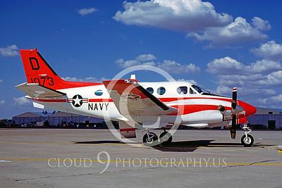 T-44USN 00001 Beech T-44A Pegasus 1990 by Peter J Mancus