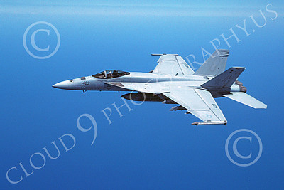 Boeing F-18E-USN 00020 A flying Boeing F-18E Super Hornet USN jet fighter 4-2009 military airplane picture by David F Brown