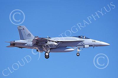 Boeing F-18E-USN 00028 A landing Boeing F-18E Super Hornet USN 165535 VX-9 VAMPIRES XE code 8-1999 military airplane picture by Michael Grove, Sr