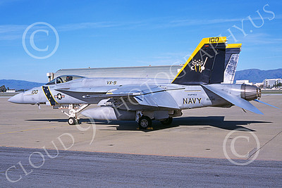 Boeing F-18E-USN 00109 A static Boeing F-18E Super Hornet USN 165780 VX-9 VAMPIRES XE code NAS Moffett 3-2007 military airplane picture by Michael Grove, Sr