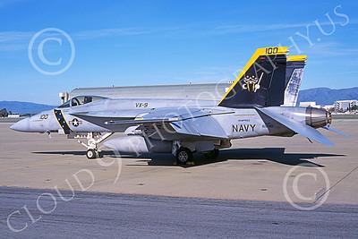 Boeing F-18E-USN 00109 A static Boeing F-18E Super Hornet USN 165780 VX-9 VAMPIRES XE code NAS Moffett 3-2007 military airplane picture by Michael Grove, Sr
