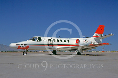 Cessna 550 Citation IIUSN 00001 Cessna 550 Citation II US Navy N12859 April 1985 by Bob Shane