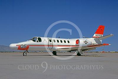 Cessna 550 Citation IIUSN 00001 Cessna 550 Citation II US Navy N12859 April 1985 by Bob Shane