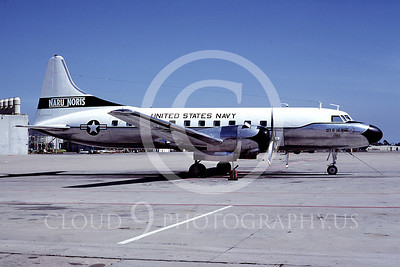 C-131USN 00003 Convair C-131 Samaritan US Navy NAS North Island NARU NORIS City of Las Vegas 28 April 1979 by Peter B Lewis