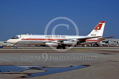 C-880USN 00001 Douglas UC-880 US Navy 161572 September 1986 via African Aviation Slide Service