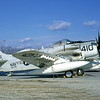 A-1USN-VA-176 0003 A static Douglas A-1H Skyraider USN 139776 VA-176 THUNDERBOLTS AC code 3-1968 military airplane picture by Clay Janson