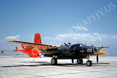 DG 00043 Douglas A-26 Invader US Navy 1960 by Clay Jansson