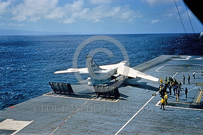 A-3-USN-PP Code 001 An early Douglas A-3 Skywarrior USN 44840 carrier based Cold War era bomber on a catapault ready to be launched at sea, USN photo via Tailhook Col, produced by www cloud9photography us     DONEwt