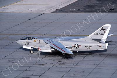 A-3USN 00003 Douglas A-43 Skywarrior USN 147648 VAQ-208 NAS Alameda 3-1982, by Peter B Lewis