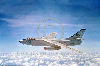 A-3-USN-VAH-13 002 A flying Douglas A-3 Skywarrior USN 138967 VAH-13 BATS GP code Cold War era carrier based jet bomber USN photo via Tailhook Col  produced by www cloud9photography us     DONEwt