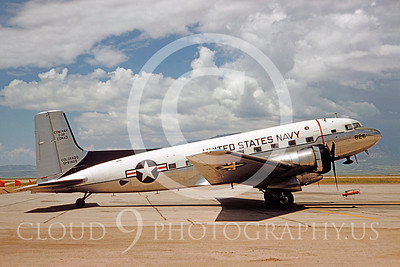 C-117USN 00023 Douglas R5D-8 Skytrain US Navy COM NAV FOR CONAD COLORADO SPRINGS by Frank Gudaitis