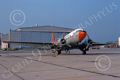 C-117USN 00017 A static Douglas C-117 USN VT-29 3C code NAS Jax 8-1972 military airplane picture by L B Sides