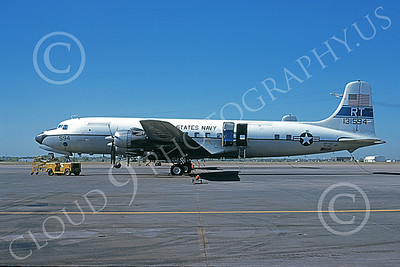 C-118USN 00023 A static Douglas C-118 Liftmaster USN 131594 VR-53 CAPTAL EXPRESS RT code 10-1979, military airplane picture by Michael Grove, Sr