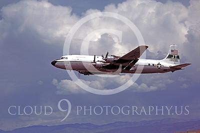 C-118USN 00012 Douglas C-118 Liftmaster US Navy May 1980 by Peter B Lewis