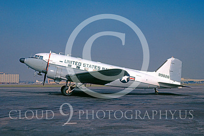 C-47USN 00001 Douglas TC-47K US Navy 99826 LAX 15 November 1968 by Bud Donato