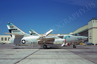 EK-A3 00001 Douglas EKA-3B Skywarrior USN 142664 VAQ-135 NAS Alameda 11 May 1973 by Douglas Olson