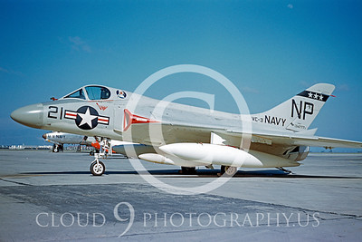 F-4DUSN 00003 Douglas F4D-1Skyray VC-3 19 May 1956 by William T Larkins