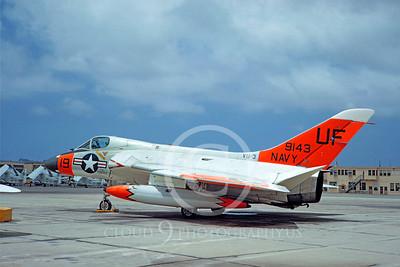 DG 00071 Douglas F-6A Skyray US Navy 199143 VU-3 by Clay Jansson