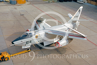 KA-3 00005 Douglas KA-3B Skywarrior #147663 Alameda 1985 by Peter J Mancus