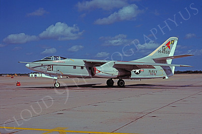 TA-3 Skywarior 00001 Douglas TA-3 Skywarrior USN 144856 VAQ-33 NAS Oceana 14 October 1978 by David Ostrowski