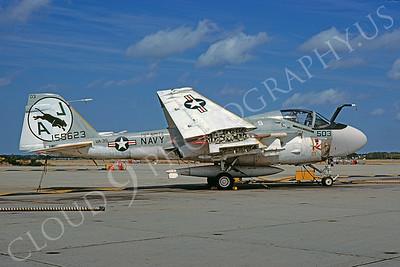 A-6USN 00015 Grumman A-6E Intruder USN 155623 VA-35 USS Nimitz NAS Oceana 14 October 1978 by David Ostrowski