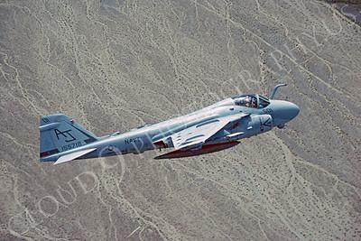 A-6USN 00002 Grumman A-6 Intruder USN 155718 USS Theodore Roosevelt 23 April 1990 by Robert L Lawson