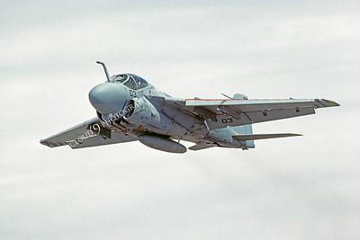 A-6USN 00012 Grumman A-6 Intruder USN June 1991 by Peter J Mancus
