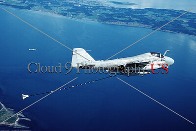 A-6EUSN 00004 A flying Gruman A-6E USN 164383 NH code 4-1999 military airplane picture by Rick Morgan