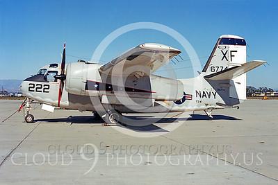 C-1USN 00001 Grumman C-1A Trader US Navy 136774 VX-4 by Peter B Lewis