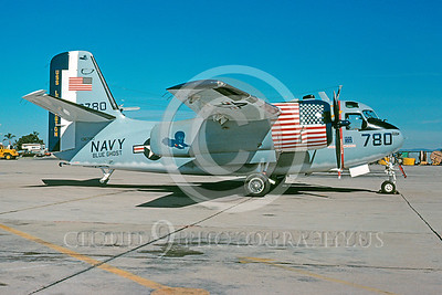 BICEN-C-1 00003 Grumman C-1A Trader USN March 1977 by Peter J Mancus