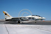 F-14USN-VF-33 0003 A taxing Grumman F-14 Tomcat USN jet fighter 159015 VF-33 STARFIGHTERS USS America 3-1985 NAS Fallon military airplane picture by Michael Grove, Sr