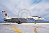F-14USN-VF-11 0033 A taxing USN Grumman F-14 Tomcat jet fighter 161853 VF-11 RED RIPPERS USS Forrestal NAS Fallon 6-1987 military airplane picture by Michael Grove, Sr    DONEwt copy