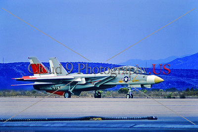 F-14-USN-Eval 001 A taxing Grumman YF-14A Tomcat USN swing wing carrier based jet fighter 157984 NATC at NAS Pt  Mugu 10-1972 military airplane picture by John Marshall via Stephen W  D  Wolf coll      11A_8558     DoneWT