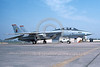 F-14USN-VF-11 0035 A static USN Grumman F-14 Tomcat jet fighter 164347 VF-11 RED RIPPERS USS Carl Vinson 3-1982 military airplane picture by Michael Grove, Sr