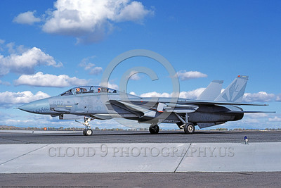 F-14USN-VF-111 0039 A taxing Grumman F-14 Tomcat USN 160678 VF-111 SUNDOWNERS USS Carl Vinson 10-1982 NAS Fallon, by Michael Grove, Sr     DONEwt copy