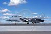 F-14USN-VF-111 0039 A taxing Grumman F-14 Tomcat USN 160678 VF-111 SUNDOWNERS USS Carl Vinson 10-1982 NAS Fallon, by Michael Grove, Sr     DONEwt copy