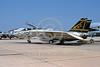 F-14USN-VF-32 0001 A static Grumman F-14 Tomcat USN jet fighter 162694 VF-32 SWORDSMEN USS John F Kennedy NAS Oceana 7-1991 military airplane pictue by Werner H Hartman via African Aviation Slide Service