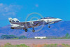 F-14USN-PMTC 0002 A landing Grumman F-14 Tomcat USN jet fighter 158622 PMTC military airplane picture by Michael Grove, Sr