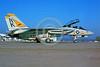 F-14USN-VF-21 0001 A static Grumman F-14 Tomcat USN jet fighter 161613 VF-21 FREELANCERS USS Constellation NAS Miramar military airplane picture by Peter J Mancus