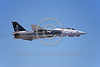 F-14USN-VF-84 0036 A flying Grumman F-14 Tomcat USN 161868 VF-84 THE JOLLY ROGERS 6-1994 military airplane picture by Michael Grove, Sr  D