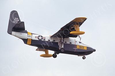 HU-16USN 00004 A landing Grumman HU-16E Albatross USN AGANA 1976 military airplane picture by Joe Parker