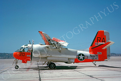 DG 00087 Grumman S-2DTracker US Navy 147889 VS-41 May 1963 by Clay Jansson