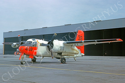 DG 00105 Grumman S2F-B Tracker US Navy March 1963 by Clay Jansson