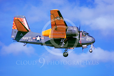 S-2USN 00004 Grumman US-2 Tracker US Navy 133351 VC-5 28 August 1973 NAF Naha by Hideki Nakabugo