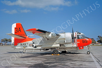 DG 00104 Grumman TS-2A Tracker US Navy 136553 VT-31 by Clay Jansson