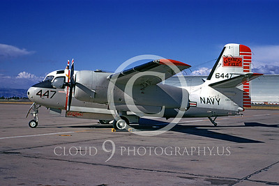 S-2USN 00001 Grumman US-2B Tracker Moffett Field USNavy 18 May 1974 by Peter B Lewis