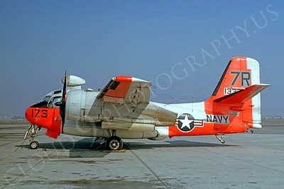 DG 00029 Grumman S-2 Tracker US Navy 133354 by Clay Jansson