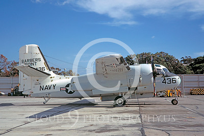 S-2USN 00009 Grumman US-2B Tracker US Navy 136436 Barbers Point 14 February 1970 NAS North Island by Clay Jansson