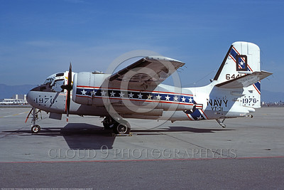 S-2USN 00039 A static Grumman US-2B Tracker USN 136441 VT-31 WISE OWLS BICENTENNIAL NAS Moffett 3-1977 military airplane picture by Michael Grove, Sr  DONEwt